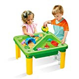 Ama-store Sand Water Table with Beach Toy Set, Tower Water Table Set for Toddler Over Fun Sand Toys Set for Girls and Boys Kids Outdoor Toys