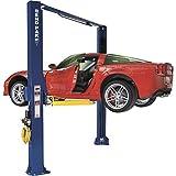 BendPak Dual-Width 2-Post Asymmetric Car Lift - 10,000-Lb. Capacity, Gray, Model Number XPR-10AS