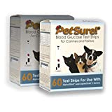 PetSure! Test Strips 60ct - Pack of 2 - Blood Glucose Testing for Cats and Dogs - Works with AlphaTrak and AlphaTrak2 Meters