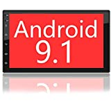 Binize 7 Inch HD Double Din Touchscreen Android Car Stereo Multimedia Radio,GPS Navigation Receiver,Bluetooth,Audio,WiFi,iOS&Android Phone Mirror Link,Front&Backup Camera Input (2G RAM+16G ROM)