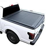 Syneticusa Aluminum Retractable Low Profile Waterproof Tonneau Cover for 2004-2021 F-150 F150 5.5' 5'6' Short Truck Bed
