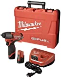 Milwaukee 2454-22 M12 Fuel 3/8 Impact Wrench Kit W/2 Bat