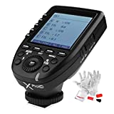 Godox Xpro-C TTL Wireless Flash Trigger for Canon 1/8000s HSS TTL-Convert-Manual Function Large Screen Slanted Design 5 Dedicated Group Buttons 11 Customizable Functions