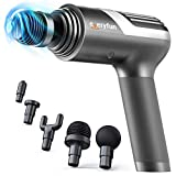 Everyfun Massage Gun Deep Tissue, Percussion Muscle Massage Gun for Athletes, Professional M3 Pro Percussion Massager for Pain Relief and Sore Muscle Recovery, Super Powerful, Quiet, 10Hrs Battery