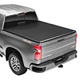 Lund Hard Tri-Fold, Hard Folding Truck Bed Tonneau Cover | 969165 | Fits 2015 - 2021 GM/Chevy, Canyon/Colorado 6' 2' Bed (74')