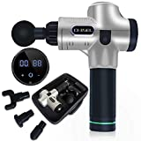 Magic Massage Gun, Hand Held Deep Tissue Muscle Massager Tool, Cordless Massager, 20 Speed Professional Personal Portable Back Tool for Athletes for Pain Relief Chisel by E.N. Store