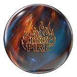 Storm Bowling Intense Fire Ball, Ultramarine/Persimmon/Black, Size 15.0