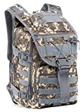 35L Military Tactical Backpack Large Waterproof Molle Bug Out Bag Army 3 Day Assault Pack (KK-2)
