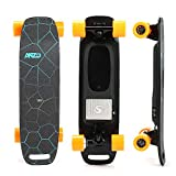 YWS The Wireless Remote Control Electric Skateboard Main Board is Made of 10 Layers of Maple Wood, Four-Speed Shifting, Manual Remote Control, Weighing 4.8 kg, Light and Flexible.