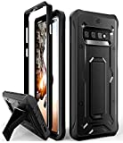 ArmadilloTek Vanguard Designed for Samsung Galaxy S10 Plus Case (2019 Release) Military Grade Full-Body Rugged with Kickstand Without Built-in Screen Protector (Black)