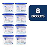 Dry & Dry [8 Boxes [Net 10 Oz/Box] Premium Moisture Absorber & Musty Odor Eliminator Boxes to Control Excess Moisture for Basements, Closets, Bathrooms, Laundry Rooms.