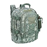 ARMYCAMO Outdoor 3 Day Expandable 40-64L Backpack Military Tactical Hiking Bug Out Bag