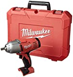 Bare-Tool Milwaukee 2663-20 18-Volt M18 1/2-Inch High Torque Impact Wrench with Friction Ring (Tool Only, No Battery)