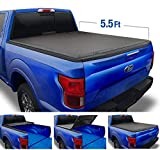 Tyger Auto Black Top T3 Soft Tri-Fold Truck Tonneau Cover for 2015-2020 Ford F-150 Styleside 5.5' Bed TG-BC3F1041