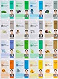 Dermal Korea Collagen Essence Full Face Facial Mask Sheet Combo Pack (16 Pack)