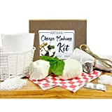 Grow and Make DIY Artisan Cheese Making Kit - Learn how to make home made mozzarella, ricotta, chèvre, paneer, and queso blanco!