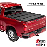 BAK BAKFlip MX4 Hard Folding Truck Bed Tonneau Cover | 448329 | Fits 2015-20 Ford F150 5'6' Bed