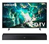 Samsung UN65RU8000 65' Smart 4K Ultra High Definition TV with a Samsung HW-N400 Bluetooth TV Mate Soundbar Speaker