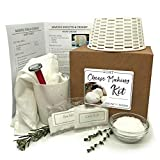 Grow and Make DIY Artisan Goat Chevre Making Kit - Learn how to make goat cheese at home!