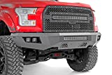 Rough Country Heavy Duty Front Bumper w/LEDs (fits) 2015-2017 F150 | (4) Cubes | (1) 20' Light Bar | 10770