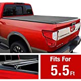 MaxMate Alloy Hardtop Tri-Fold Truck Bed Tonneau Cover for 2014-2020 Toyota Tundra | Fleetside 5.5' Bed
