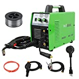 Reboot MIG Welder Gas/Gasless 3 in 1 Flux Core 110V/220V MIG150 Stick Mig Welding Machine 150 Amps Supports 2LB Solid Wire Automatic Feed IGBT Inverter MMA ARC Welding