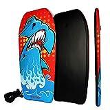 BIGTREE Bodyboard Kickboard Surfing Skimboard Wake Boogie Board Pool Toy Shark