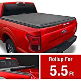 MaxMate Soft Roll Up Truck Bed Tonneau Cover Compatible with 2009-2014 Ford F-150 | Styleside 5.5' Bed