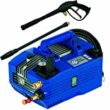 AR Blue Clean, AR610, Electric Hand Carry Pressure Washer, 1350 PSI, 1.9 GPM, Industrial Grade, Adjustable pressure gauge