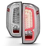 ACANII - For Blk 2014 2015 2016 2017 2018 2019 Toyota Tundra LED Tube Tail Lights Brake Lamps