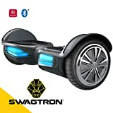 Swagtron T3 Version 2 Hands Free Smart Board, Black, One Size