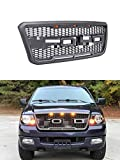 VZ4X4 Front Grill for Ford F150 2004 2005 2006 2007 2008 Raptor Style Grill, GRAY COLOR (US STOCK)