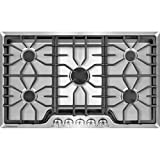 Frigidaire FGGC3645QS - Frigidaire Gallery 36 inch Gas Cooktop in Stainless Steel
