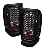 Spyder Auto ALT-ON-DRAM94-LED-BK Dodge RAM 1500/2500/3500 Black LED Tail Light