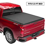 Lund Genesis Elite Roll Up Soft Roll Up Truck Bed Tonneau Cover   96872   Fits 2015 - 2020 Ford F-150 5' 5' Bed