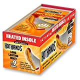 HotHands Insole Foot Warmers - Long Lasting Safe Natural Odorless Air Activated Warmers - Up to 9 Hours of Heat - 16 Pair , Black