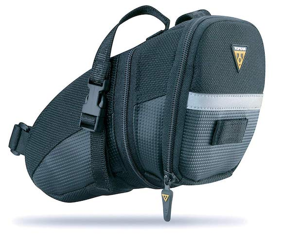 2. Topeak seat pack Aero Wedge Packs saddle bag
