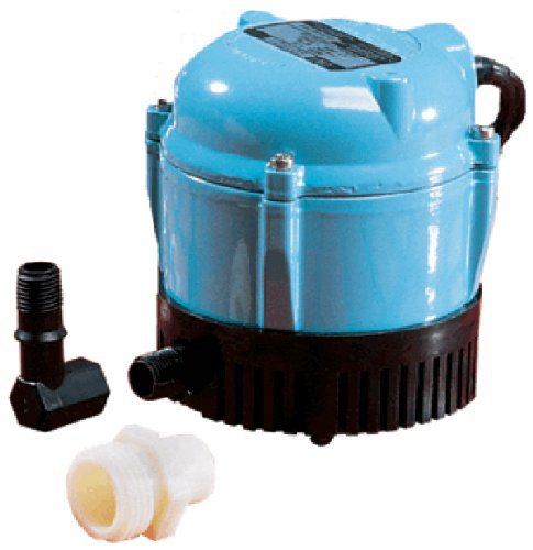 7. Little Giant 500500 1-AA-18 Submersible Cover Pump with 18-Feet Cord, 170 GPH