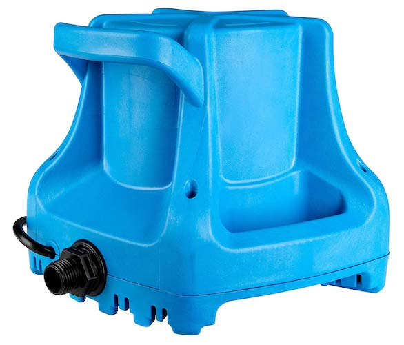 1. Little Giant APCP-1700 Automatic Swimming Pool Cover Submersible Pump, 1/3-HP, 115V