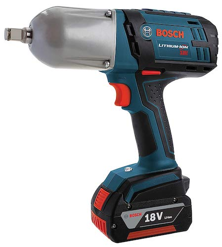 6. Bosch 18-Volt High Torque Impact Wrench Kit with Friction Ring IWHT180-01