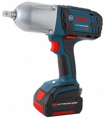 10. Bosch HTH181-01 18-Volt Lithium-Ion 1/2-Inch Square Drive Impact Wrench Kit with 2 Batteries, Charger and Case - Detent Pin