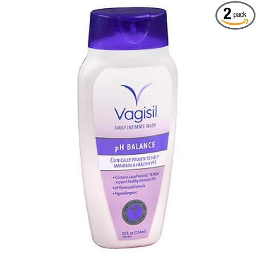2.Vagisil Feminine Wash pH Balanced, Light & Fresh 12 oz (Pack of 2)