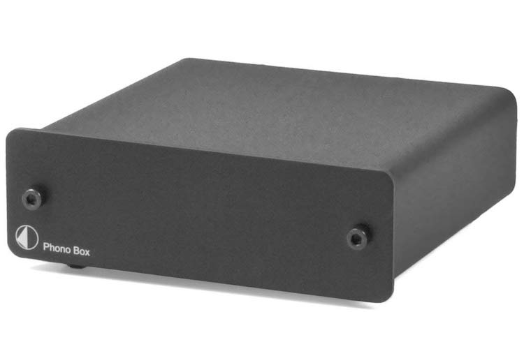 3.Pro-Ject Audio - Phono Box DC - MM/MC Phono preamp with line output - Blk