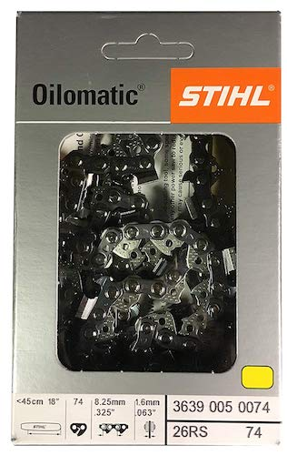 7. Stihl 26RS 74 Chainsaw Chain Rapid Super 18