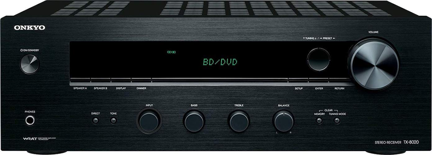7.Onkyo TX-8020 2 channel Stereo Receiver
