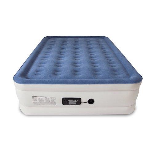 5.SoundAsleep Dream Series Air Mattress with ComfortCoil Technology & Internal High Capacity Pump - Queen Size