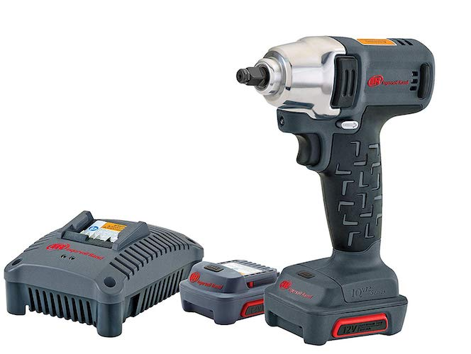 1. Ingersoll Rand W1130-K2 12V Cordless Impact Wrench Kit