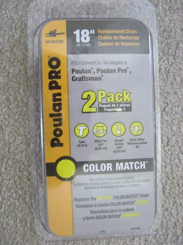 6.Poulan Pro 18