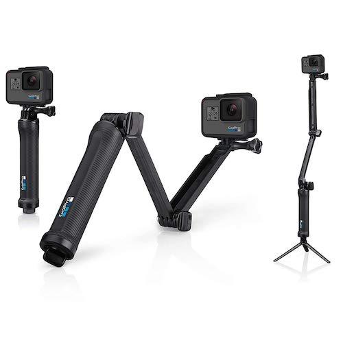 3.GoPro 3-Way Grip, Arm, Tripod (GoPro Official Mount)