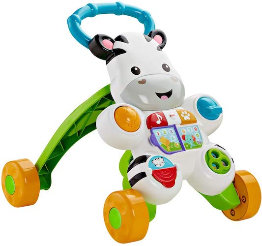 2. Fisher-Price Learn with Me Zebra Walker